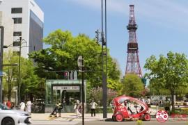 地铁札幌站、大通站出口超完整图解、景点购物资讯!