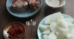 白萝卜牛尾汤的做法步骤