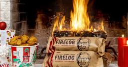 肯德基推出限时「木柴」 在家也能烧出炸鸡香味