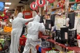 """去趟超市恍如到了""""生化危机""""战场?"""
