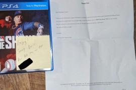 玩家PS4 Pro因光驱故障返厂维修 索尼送回时竟还附送了《美职棒大联盟20》