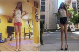"""腿长134厘米 蒙古""""女巨人"""":高个女孩很漂亮"""