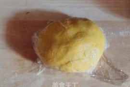 南瓜海麻线蒸饺的做法步骤