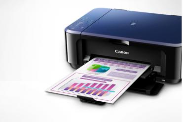 佳能(Canon) E568 彩色喷墨一体机 学生打印 作业打印(打印 复印 扫描 无线连接 自动双面)