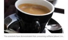 想燃脂喝咖啡!JISSN:运动前喝浓咖啡可燃烧脂肪,下午喝更佳!