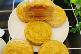 奶黄流心月饼的做法步骤