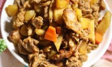 土豆烧鸡肉的做法步骤