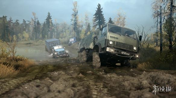 """""""俄卡""""《旋转轮胎:泥泞奔驰》2月将迎免费新地图、新载具更新 游戏资讯 第2张"""