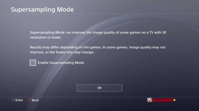 PS4 5.50 Beta 新功能 USB自定背景+游玩时间监控+PS4 Pro「超级采样」提升画质 游戏资讯 第4张