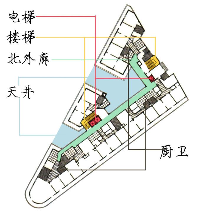 历史老建筑图集-上海武康路——武康大楼 无忧杂谈 第5张
