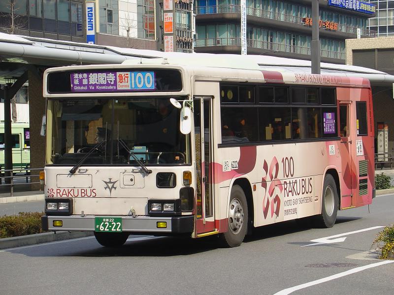 京都市内交通,JR琵琶湖线,嵯峨野线,洛巴士,100元循环巴士,JR湖西线 旅游资讯 第9张