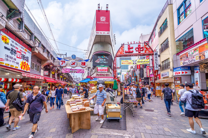 东京上野浅草区域 | 1天时间游玩6大特色超棒景点 旅游资讯 第7张