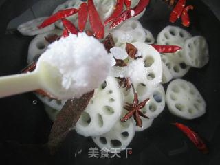 香卤莲藕的做法步骤 美食菜谱 第6张