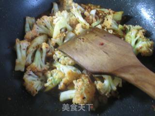 香辣花菜的做法步骤 美食菜谱 第8张