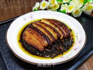 梅菜扣肉的做法步骤 美食菜谱 第21张