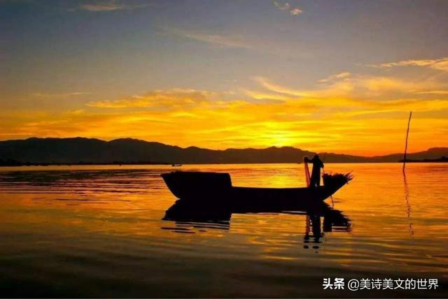 李清照最美的两首游湖词,一首让她一词成名,一首千年来无人超越   文摘阅读 第6张