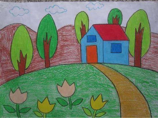 妈妈看眼了6岁女儿的画,直接报了警 家庭生活 第2张