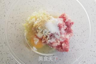 四喜丸子的做法步骤 美食菜谱 第3张