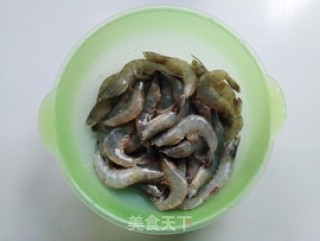 双椒蒸虾的做法步骤 家常菜谱 第2张