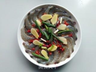 双椒蒸虾的做法步骤 家常菜谱 第4张