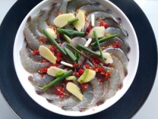 双椒蒸虾的做法步骤 家常菜谱 第5张