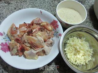 避风塘炒鸡块的做法步骤 家常菜谱 第1张
