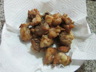 避风塘炒鸡块的做法步骤 美食菜谱 第6张