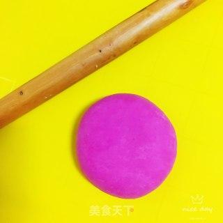 火龙果手擀面的做法步骤 美食菜谱 第6张