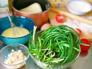 韭菜盒子的做法步骤 家常菜谱 第1张