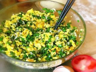 韭菜盒子的做法步骤 家常菜谱 第4张
