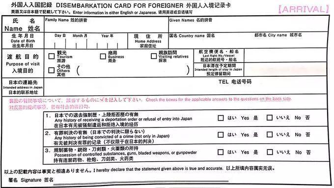 日本机场入关指南,准备去旅行的你都知道吗? 旅游资讯 第4张