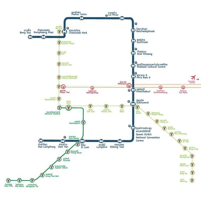 曼谷自由行全新交通攻略(2019~2020版) 旅游资讯 第5张