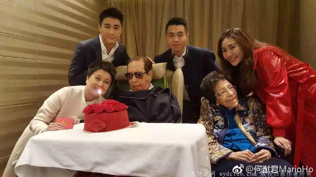 赌王何鸿燊逝世:4房太太 17个孩子 与5000亿家产 娱乐界 第1张