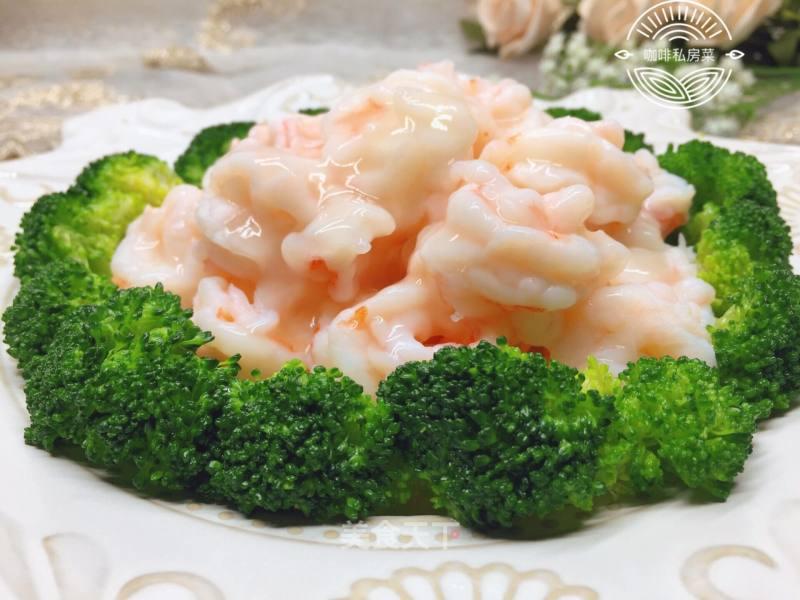 牡丹虾球的做法步骤 家常菜谱 第1张