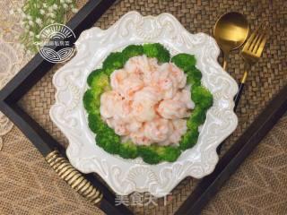 牡丹虾球的做法步骤 家常菜谱 第15张