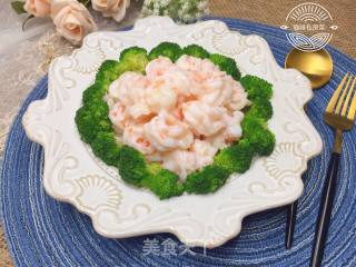 牡丹虾球的做法步骤 家常菜谱 第17张