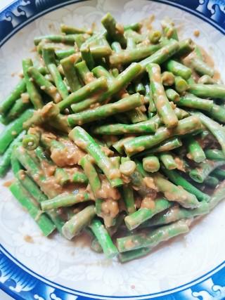 芝麻酱蒜泥拌豆角的做法步骤 家常菜谱 第10张