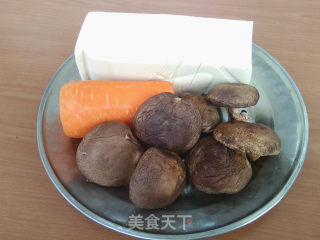 豆腐烧香菇的做法步骤 家常菜谱 第2张