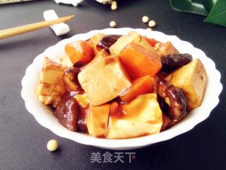 豆腐烧香菇的做法步骤 家常菜谱 第12张