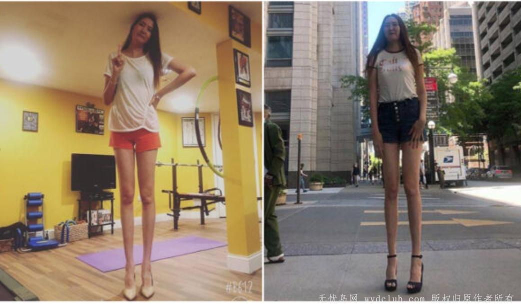 """腿长134厘米 蒙古""""女巨人"""":高个女孩很漂亮 大千世界 第1张"""