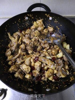 干煸鸡的做法步骤 家常菜谱 第13张
