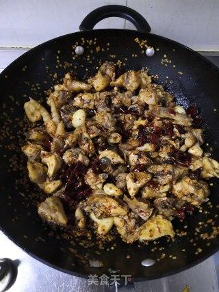 干煸鸡的做法步骤 家常菜谱 第16张