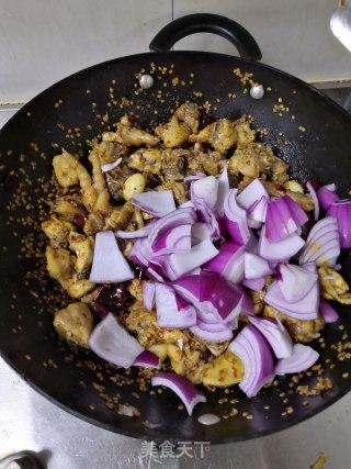 干煸鸡的做法步骤 家常菜谱 第17张