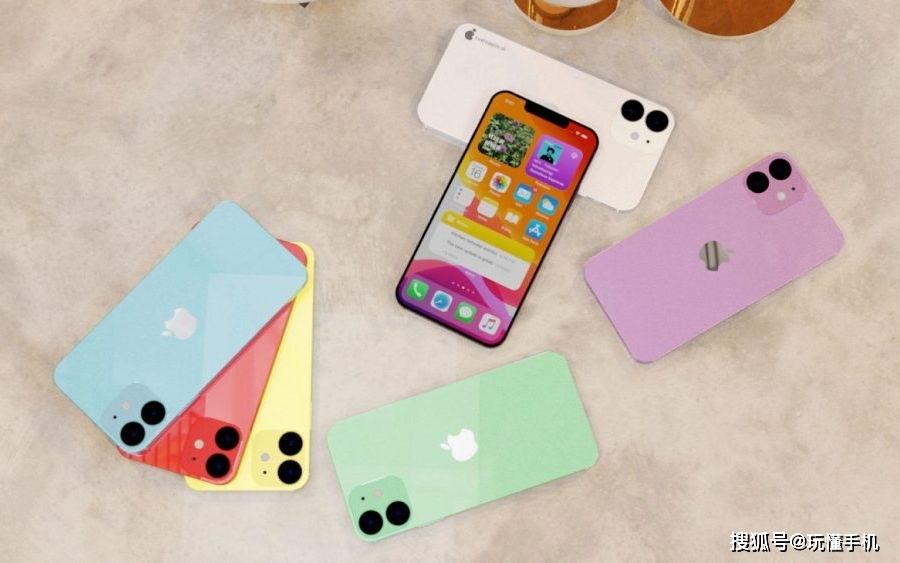 """苹果5.4英寸版iPhone 12""""水果配色""""概念渲染图欣赏 消费与科技 第3张"""