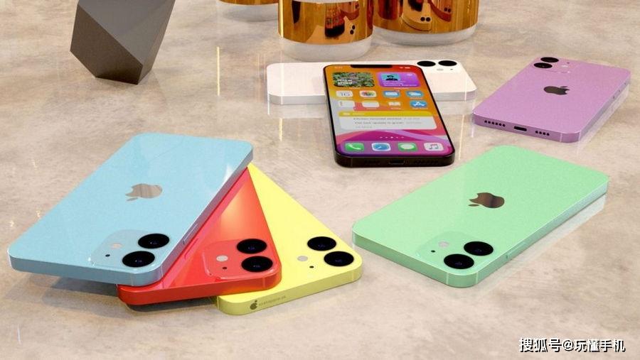 """苹果5.4英寸版iPhone 12""""水果配色""""概念渲染图欣赏 消费与科技 第5张"""