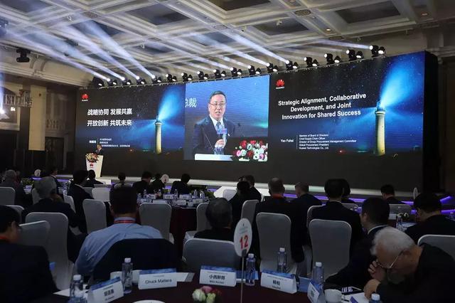 华为2018年核心供应商名单 行业参考