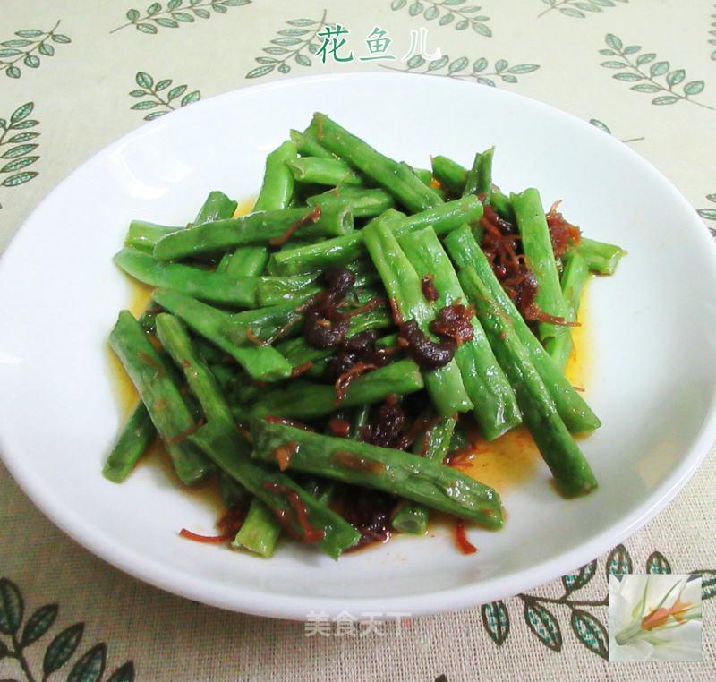XO酱四季豆的做法步骤 家常菜谱 第1张