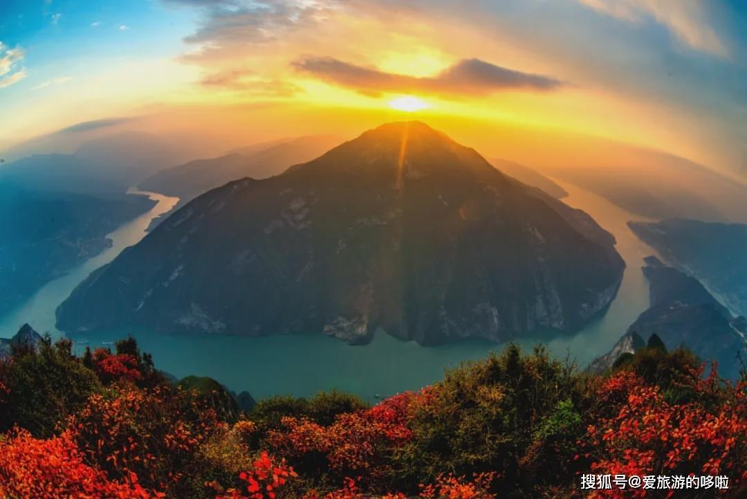 三峡之秋,完全不输日本的红叶季,手把手教你吊打票圈! 旅游资讯 第7张