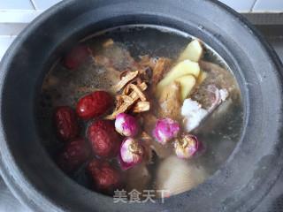 牡丹花鸡汤的做法步骤 家常菜谱 第4张