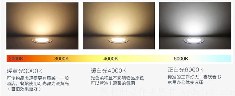 雷士照明 LED筒灯3W全套筒灯一体纤薄防雾开孔7.5-8.5公分天花桶灯 特惠 3W 正白光 (开孔7.5-8.5厘米) 京东特惠 第3张
